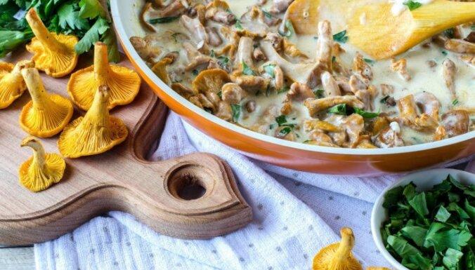 Vakariņās gailenes: 22 kārdinošas receptes pirmo meža sēņu izgaršošanai