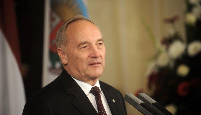Prezidents pateicas visiem skolotājiem par ieguldījumu Latvijas nākotnē