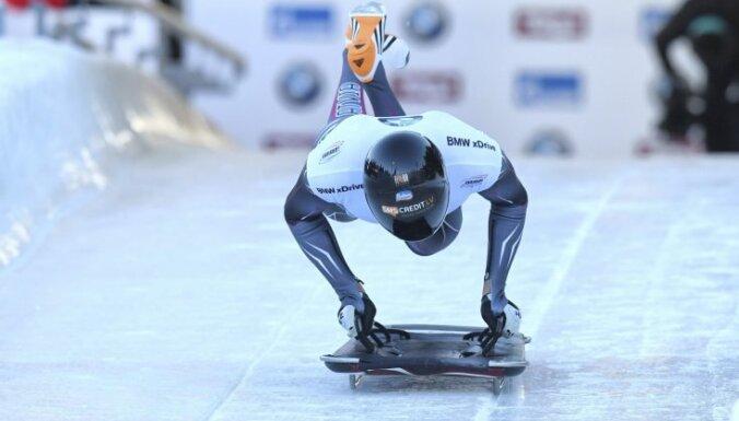 Martins Dukurs paliek bez medaļas Pasaules kausa posmā Vinterbergā
