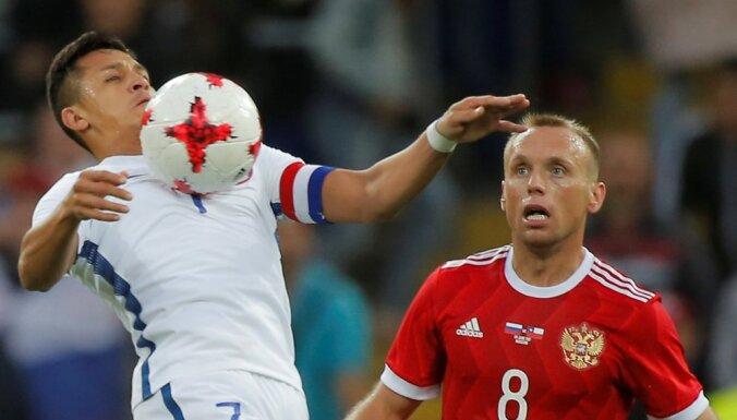 ВИДЕО: Сборная России сыграла вничью с чилийцами, Аргентина обыграла Бразилию