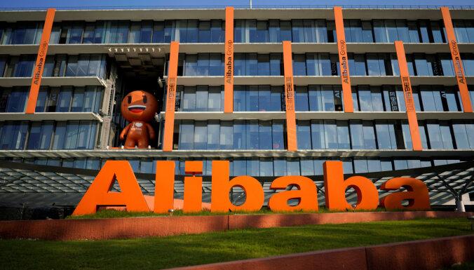 'Alibaba' ceturksni noslēdz ar 1,17 miljardu dolāru zaudējumiem