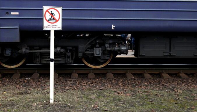 Из-за упавшего на рельсы дерева поезд Рига — Даугавпилс опоздал на 40 минут