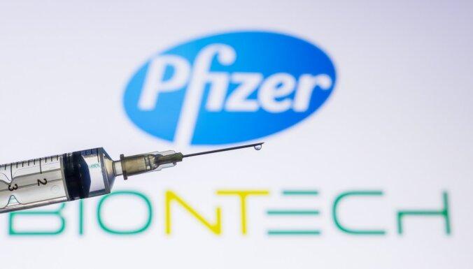 Covid-19: EK apstiprina 'Pfizer' un 'BioNTech' vakcīnu