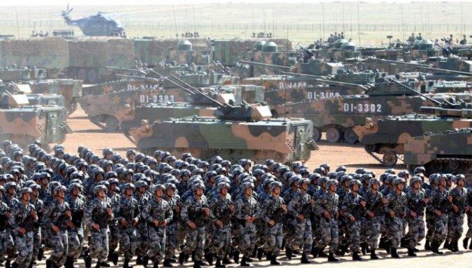 Pentagons: Ķīnas armija, iespējams, trenējas uzbrukumiem ASV mērķiem