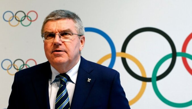 Президент МОК Бах: у российских атлетов нет причин бойкотировать Игры-2018