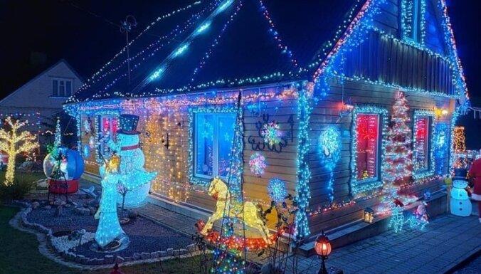Foto: Ziemassvētku rezidence – nams, kuru apbrīno visa Lietuva
