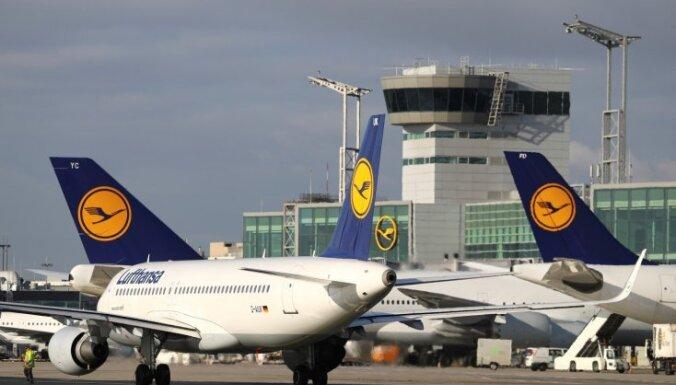 """Забастовка бортпроводников """"дочек"""" Lufthansa: затронуты сотни рейсов в ФРГ"""