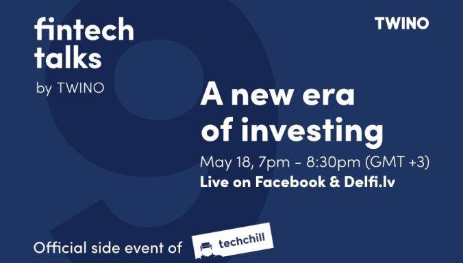 'TWINO' organizē diskusiju par investīciju iespējam finanšu tirgos. Ieraksts.