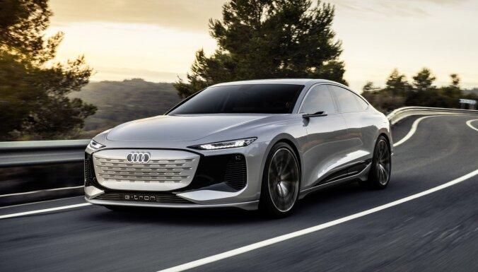 'Audi' parādījis 'A6 e-tron' konceptauto ar 700 km sniedzamību