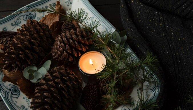 Dekoratīvi un aromātiski – ideja omulīgam dekoram no čiekuriem