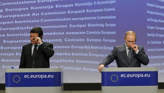 Путин критикует политику и энергетический курс ЕС
