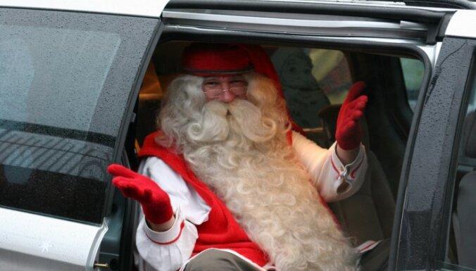 В Крыму Дед Мороз умер на детском утреннике