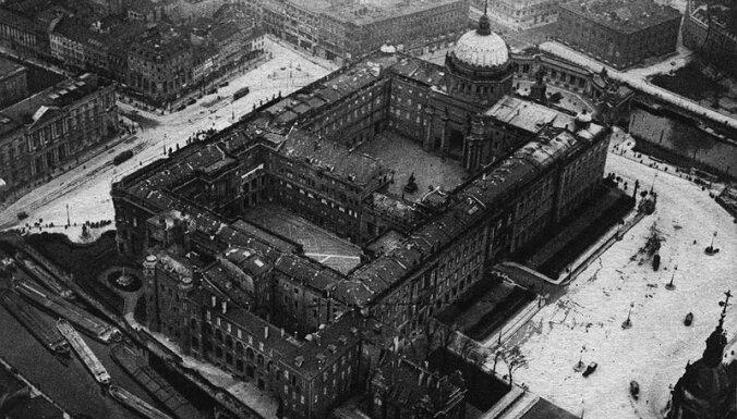 Berlīnē sāk vērienīgu vēsturiskās pils rekonstrukciju