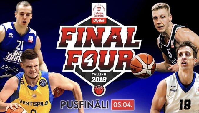 'OlyBet' līgas 'Final Four': četrotnes plusi un mīnusi cīņā par vietu finālā