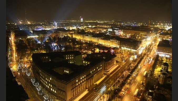 Ušakovs Jaungada svinības Rīgā uzskata par pēdējā laikā vērienīgākajām