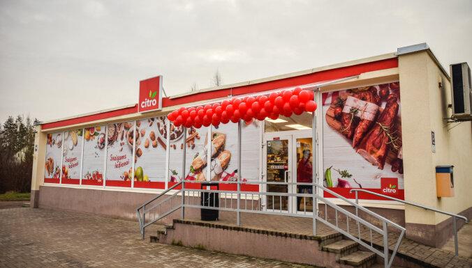 В Латвии работает более 70 продовольственных магазинов новой розничной сети Citro