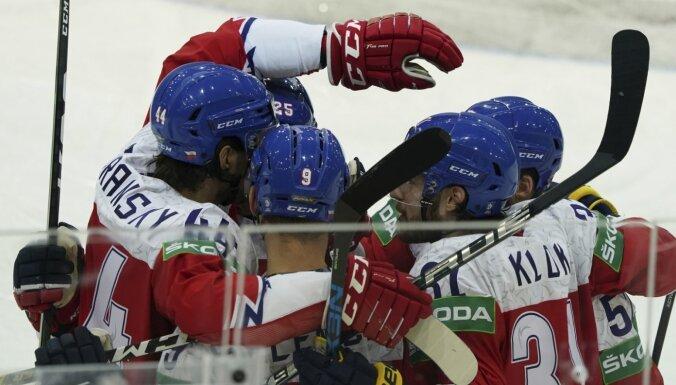 Čehija ar trešo uzvaru pēc kārtas bruģē ceļu uz ceturtdaļfinālu