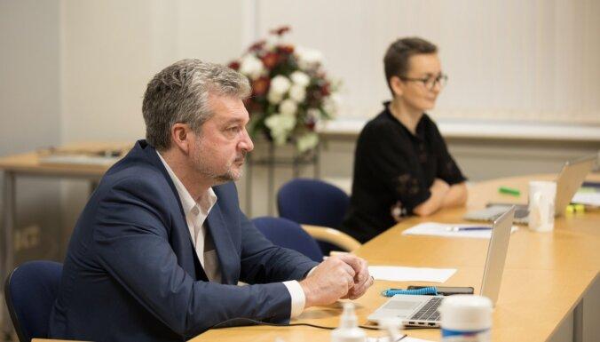 Новая консервативная партия выступает против парламентского секретаря Минфина Закатистовса