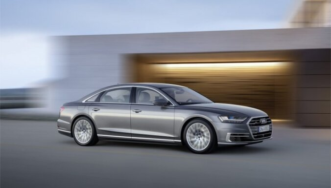 Ventspils pašvaldības policija neprecizē, iespējams, Lemberga vajadzībām iegādātās automašīnas 'Audi 8' lietotāju