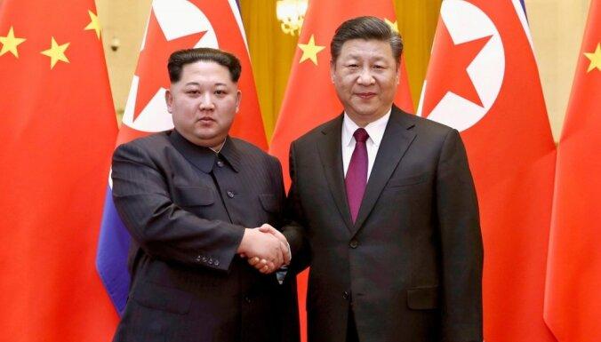 Ķīna aicina ANO apsvērt Ziemeļkorejas sankciju atvieglošanu