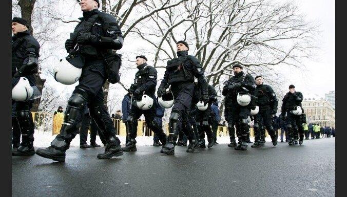 Козловскис: 16 марта полиция готова применить силу