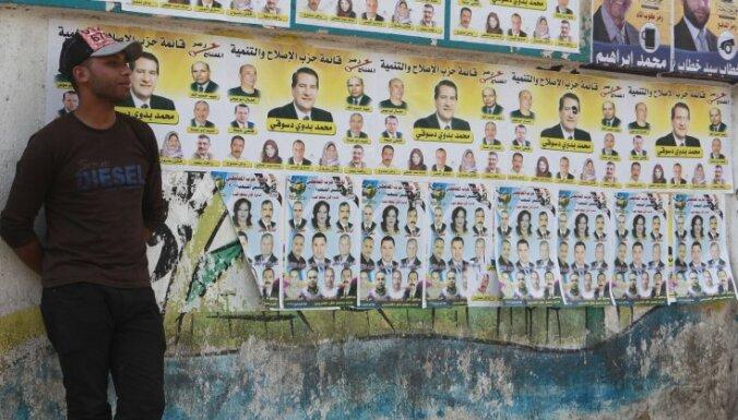 Ēģiptē sākas parlamenta augšpalātas vēlēšanas