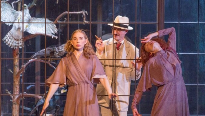 Tīrona dzīvā teatralitāte. JRT iestudējuma 'Apmānītā' recenzija