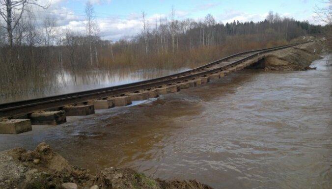Valdība finansiāli atbalstīs plūdos cietušās pašvaldības un iedzīvotājus