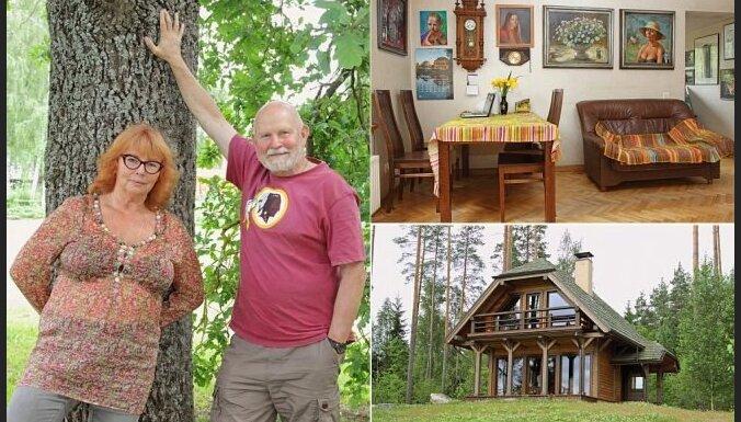 Māja, kur top mūzika: ciemos pie Pētera Vaska un Dzintras Gekas