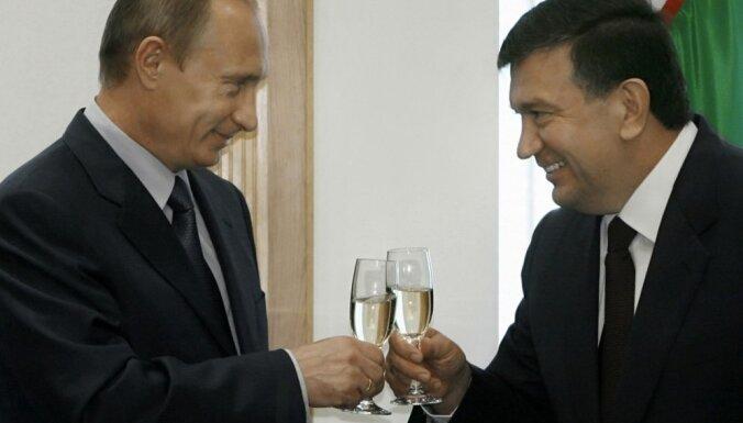 Par Uzbekistānas pagaidu prezidentu iecelts premjers Mirzijajevs