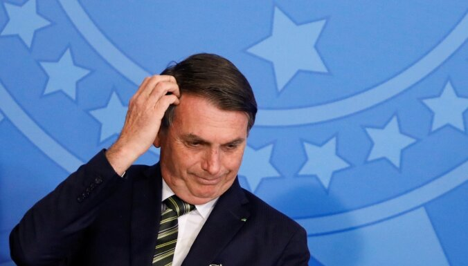 Анализы президента Бразилии оказались положительными на Covid-19