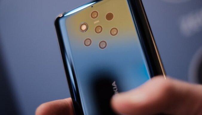 'Nokia' prezentējusi pasaulē pirmo viedtālruni ar piecām fotokamerām