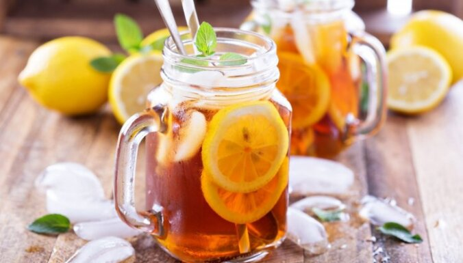 Kā mājās pagatavot dievīgu ledus tēju