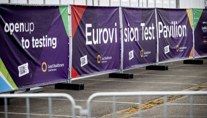 Vēl pirms konkursa vairākās 'Eirovīzijas' delegācijās konstatēts Covid-19