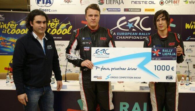 ERČ 'Rally Liepāja' ātrākajiem braucējiem prēmijās sadalīs 20 tūkstošus eiro