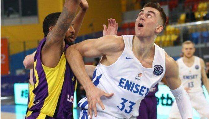 Meiers gūst 13 punktus un uzlabo 'Jeņisej' iespējas iekļūt VTB līgas izslēgšanas spēlēs