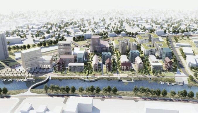 Foto: Noslēdzies arhitektūras ideju konkurss 'Zunda parks' attīstības vīzijai