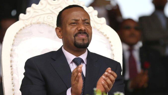Nobela Miera prēmija piešķirta Etiopijas premjeram Abijam Ahmedam Ali