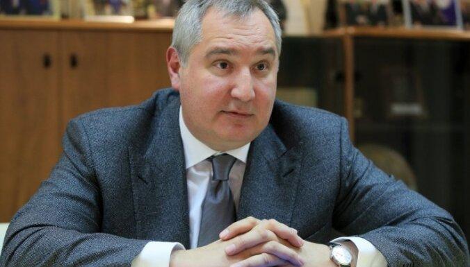 Par spīti sankcijām Rogozins varēs apmeklēt ASV