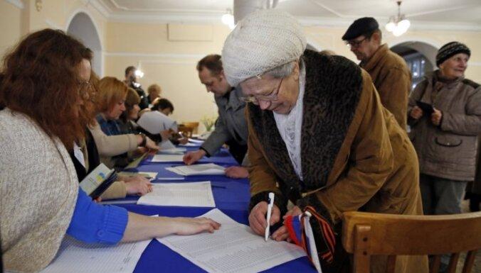 Krimas pievienošanu Krievijai atbalstījuši 97% balsotāju