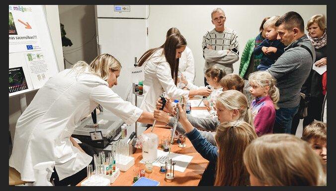 17 pilsētās un novados: piektdien visā Latvijā norisināsies 'Zinātnieku nakts' pasākumi