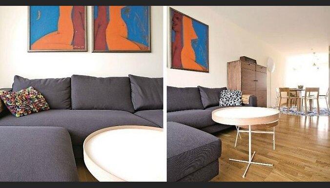 Ciemos: Lakonisks minimālisms un sava stila meklējumi 100 kvadrātmetru dzīvoklī