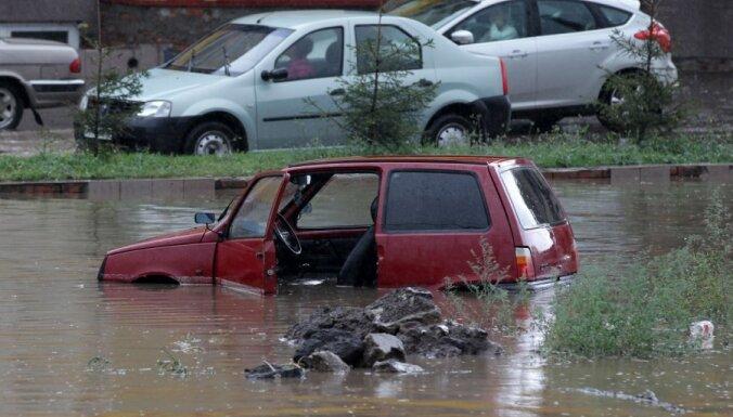 Jaunos plūdos Krievijas Krasnodaras novadā četri bojāgājušie