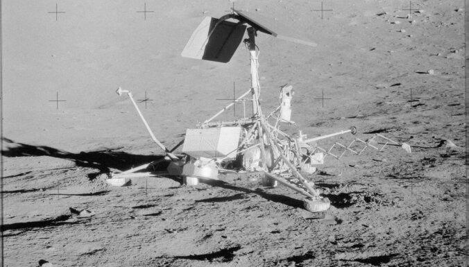 Foto: 'Apollo 12' misija uz Mēnesi pirms 50 gadiem