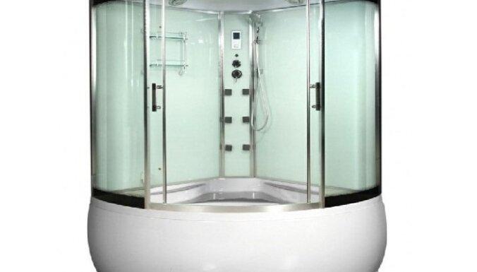 Особое предложение на паровые душевые кабины с ванной Madmoiselle