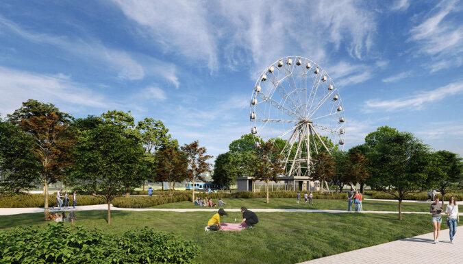 В Риге появится 65-метровое колесо обозрения за восемь миллионов евро
