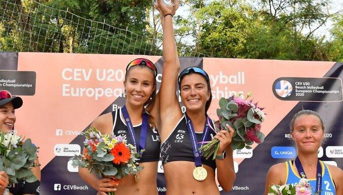 Noteikti Latvijas gada labākie volejbolisti un pludmales volejbolisti