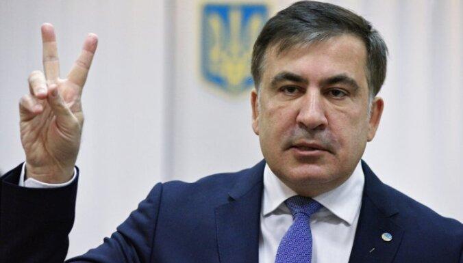 Gruzijā Saakašvili piespriests trīs gadu cietumsods