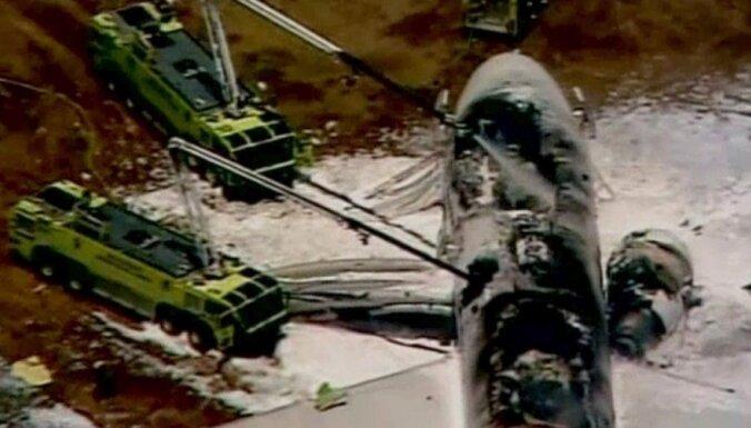 Крушение Boeing в Сан-Франциско: перед посадкой пилота ослепили лазером с земли