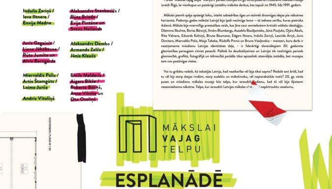 'MVT Vasaras māja' ar Mākslas akadēmijai veltītu ciklu pārcelsies uz Esplanādi